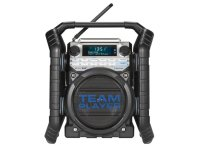 Aanbieding 'WERKRADIO 'TEAMPLAYER' DAB+  BLUETOOTH - art.nr. 4751691'